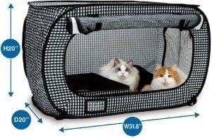 Necoichi Cat Carrier with litter box 1